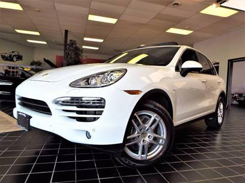 2014 Porsche Cayenne for sale at SAINT CHARLES MOTORCARS in Saint Charles IL