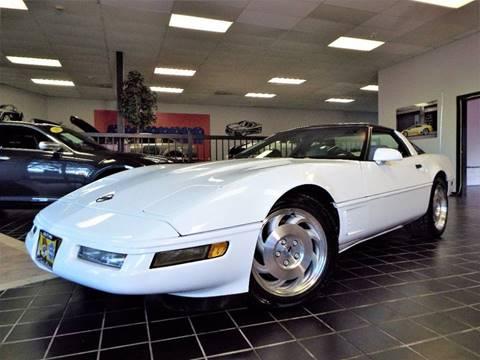 1996 Chevrolet Corvette for sale at SAINT CHARLES MOTORCARS in Saint Charles IL