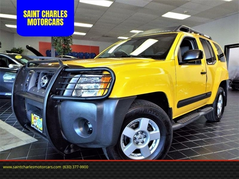 2005 Nissan Xterra for sale at SAINT CHARLES MOTORCARS in Saint Charles IL