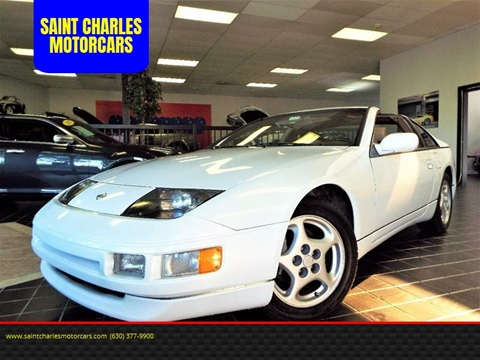 1995 Nissan 300ZX for sale at SAINT CHARLES MOTORCARS in Saint Charles IL