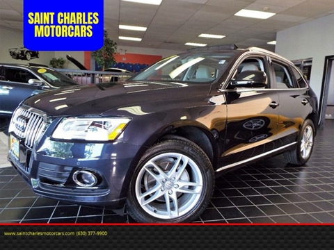 2016 Audi Q5 for sale at SAINT CHARLES MOTORCARS in Saint Charles IL