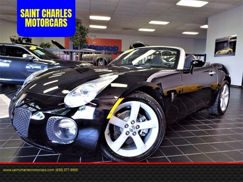 2007 Pontiac Solstice for sale at SAINT CHARLES MOTORCARS in Saint Charles IL