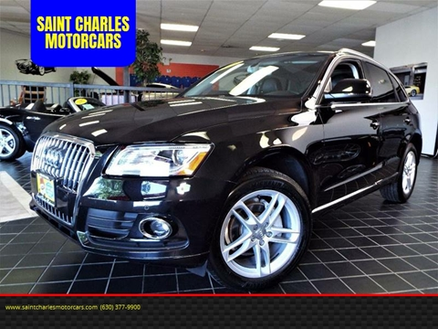 2013 Audi Q5 for sale at SAINT CHARLES MOTORCARS in Saint Charles IL
