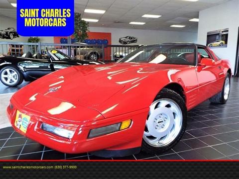 1992 Chevrolet Corvette for sale at SAINT CHARLES MOTORCARS in Saint Charles IL