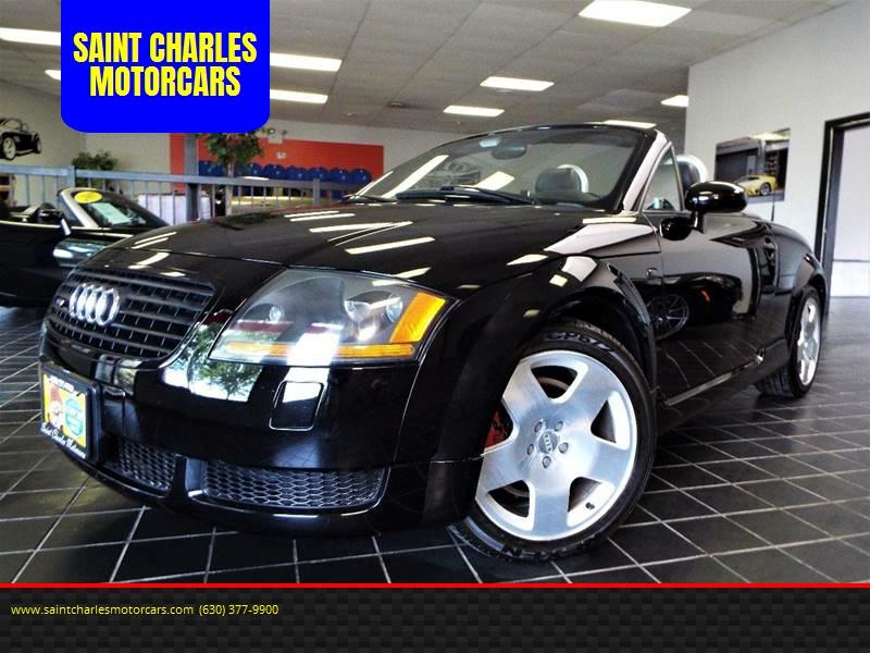 2001 Audi TT for sale at SAINT CHARLES MOTORCARS in Saint Charles IL