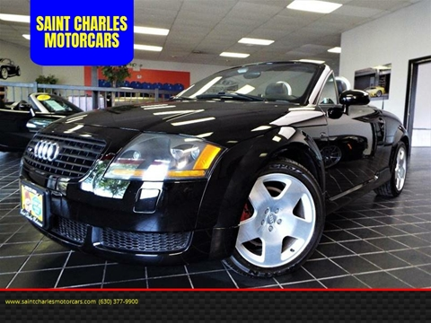 2001 Audi TT for sale at SAINT CHARLES MOTORCARS in Saint Charles IL