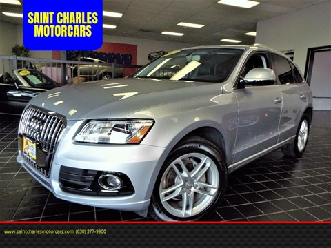 2015 Audi Q5 for sale at SAINT CHARLES MOTORCARS in Saint Charles IL