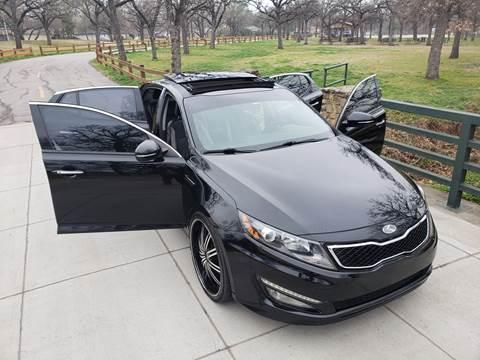 2012 Kia Optima SX Turbo for sale at Half Price Auto Sales in Arlington TX