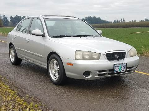 2002 Hyundai Elantra for sale at Low Price Auto and Truck Sales, LLC in Salem OR