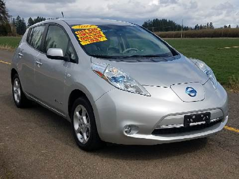 2011 Nissan LEAF for sale at Low Price Auto and Truck Sales, LLC in Salem OR