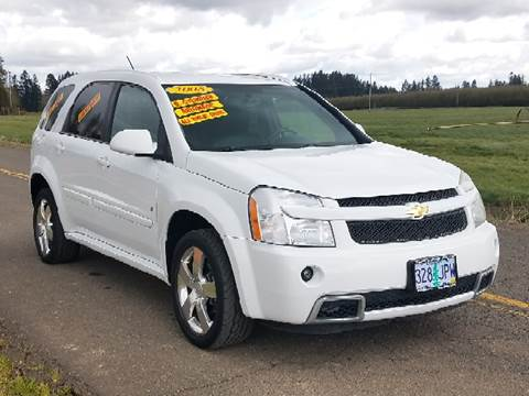 2008 Chevrolet Equinox for sale at Low Price Auto and Truck Sales, LLC in Salem OR