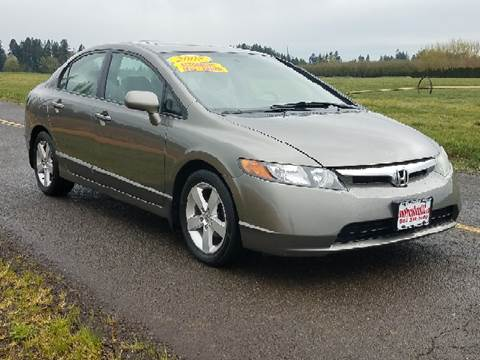 2008 Honda Civic for sale at Low Price Auto and Truck Sales, LLC in Salem OR