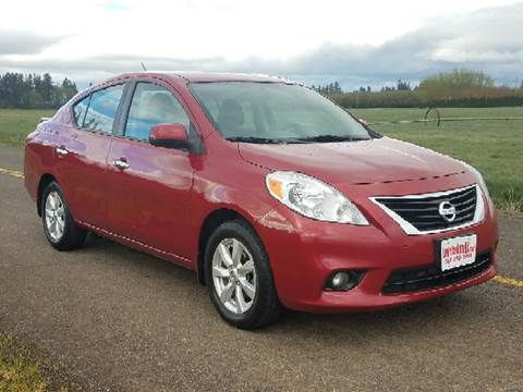 2013 Nissan Versa for sale at Low Price Auto and Truck Sales, LLC in Salem OR