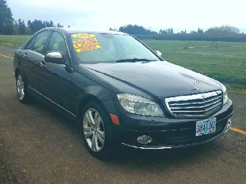 2008 Mercedes-Benz C-Class for sale at Low Price Auto and Truck Sales, LLC in Brooks OR
