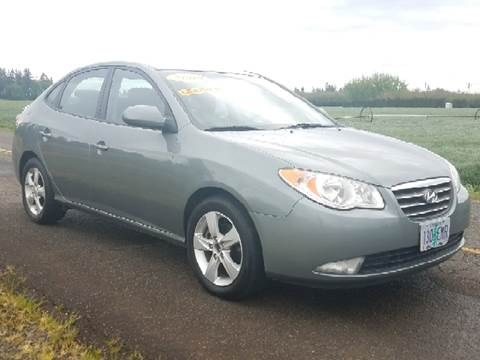 2009 Hyundai Elantra for sale at Low Price Auto and Truck Sales, LLC in Salem OR
