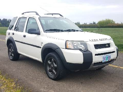 2004 Land Rover Freelander for sale at Low Price Auto and Truck Sales, LLC in Brooks OR
