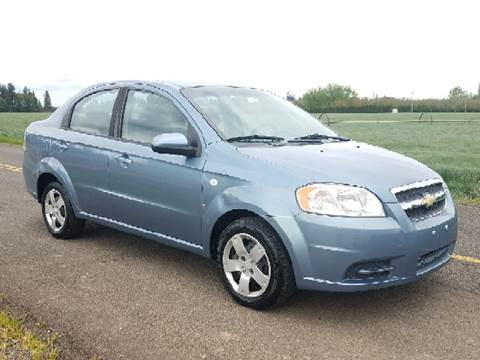 2008 Chevrolet Aveo for sale at Low Price Auto and Truck Sales, LLC in Salem OR