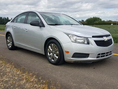 2012 Chevrolet Cruze for sale at Low Price Auto and Truck Sales, LLC in Brooks OR
