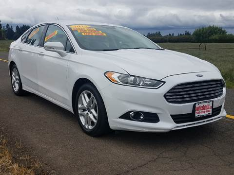 2013 Ford Fusion for sale at Low Price Auto and Truck Sales, LLC in Brooks OR
