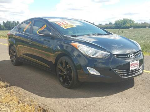 2011 Hyundai Elantra for sale at Low Price Auto and Truck Sales, LLC in Salem OR