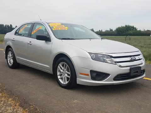 2012 Ford Fusion for sale at Low Price Auto and Truck Sales, LLC in Brooks OR