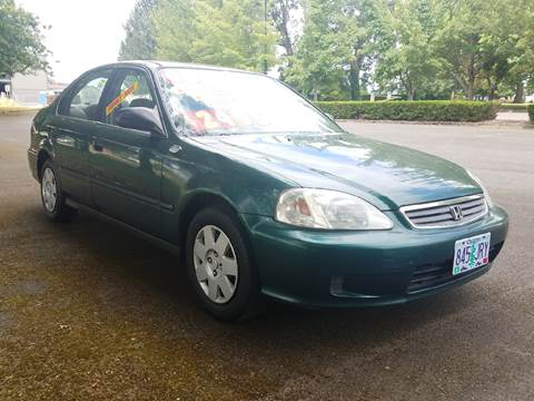 2000 Honda Civic for sale at Low Price Auto and Truck Sales, LLC in Salem OR
