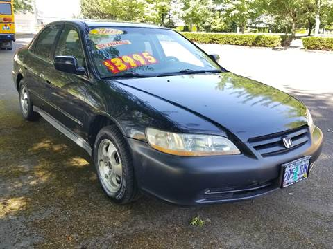 2002 Honda Accord for sale at Low Price Auto and Truck Sales, LLC in Salem OR