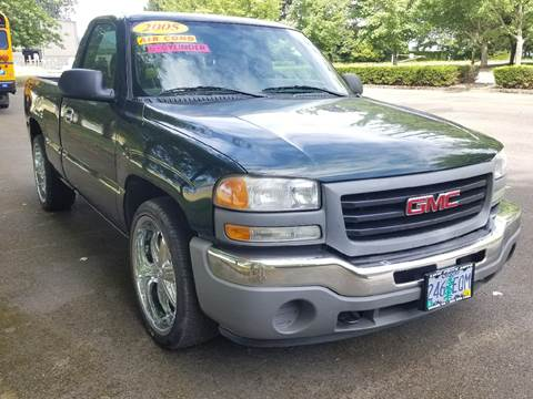 2005 GMC Sierra 1500 for sale at Low Price Auto and Truck Sales, LLC in Brooks OR