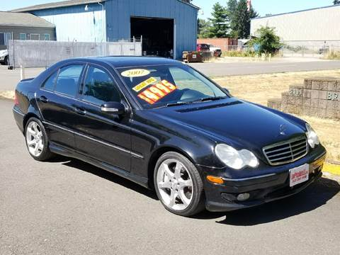 2007 Mercedes-Benz C-Class for sale at Low Price Auto and Truck Sales, LLC in Brooks OR