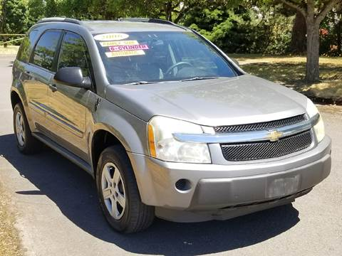2006 Chevrolet Equinox for sale at Low Price Auto and Truck Sales, LLC in Salem OR