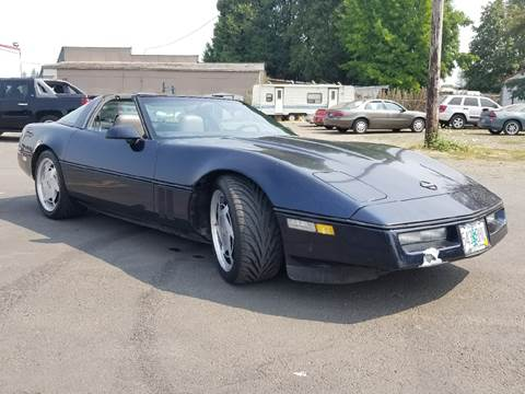 1988 Chevrolet Corvette for sale at Low Price Auto and Truck Sales, LLC in Brooks OR