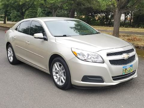 2013 Chevrolet Malibu for sale at Low Price Auto and Truck Sales, LLC in Brooks OR