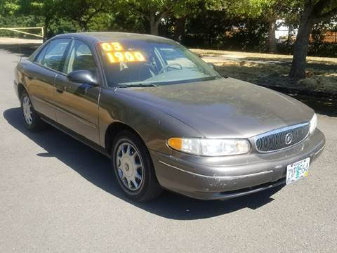 2003 Buick Century for sale at Low Price Auto and Truck Sales, LLC in Brooks OR
