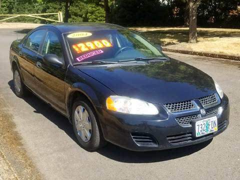 2004 Dodge Stratus for sale at Low Price Auto and Truck Sales, LLC in Salem OR