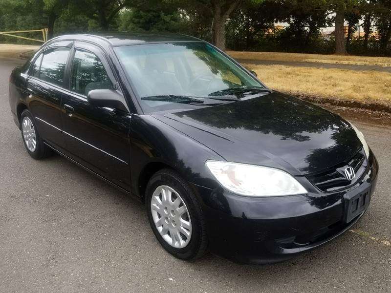 2005 Honda Civic LX 4dr Sedan   Brooks OR