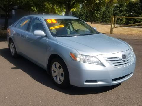 2008 Toyota Camry for sale at Low Price Auto and Truck Sales, LLC in Salem OR