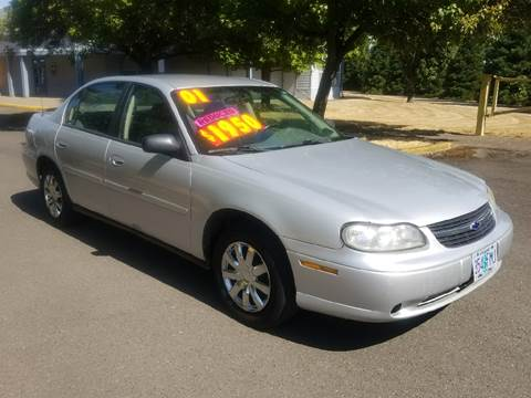 2001 Chevrolet Malibu for sale at Low Price Auto and Truck Sales, LLC in Brooks OR