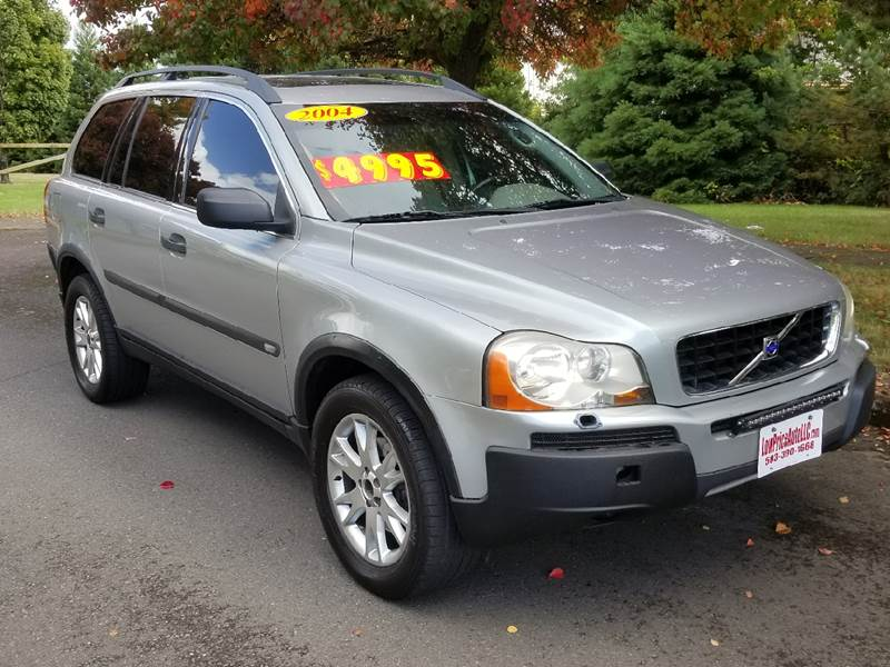2004 Volvo Xc90 Awd 4dr T6 Turbo Suv In Brooks Or Low