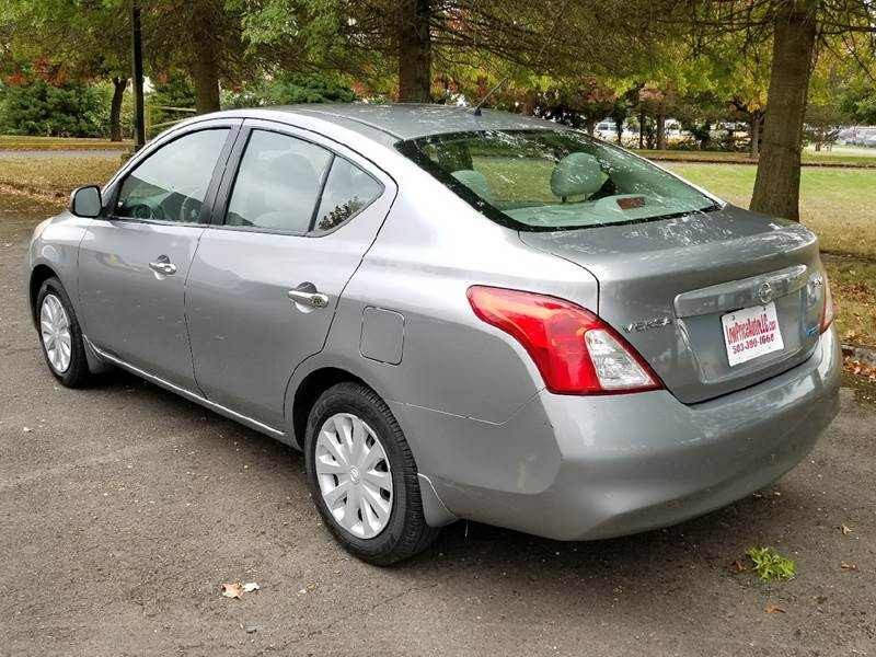 2012 Nissan Versa 16 Sv 4dr Sedan In Brooks Or Low Price Auto And