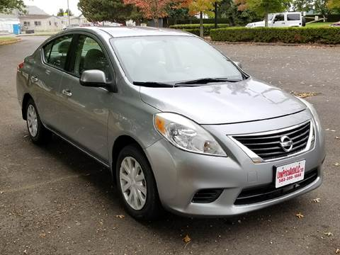 2012 Nissan Versa for sale in Brooks, OR