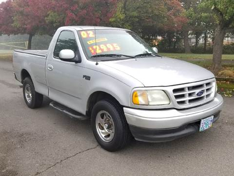 2002 Ford F-150 for sale at Low Price Auto and Truck Sales, LLC in Brooks OR