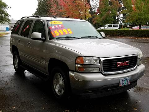 2005 GMC Yukon for sale at Low Price Auto and Truck Sales, LLC in Salem OR