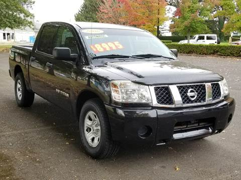 2006 Nissan Titan for sale at Low Price Auto and Truck Sales, LLC in Salem OR