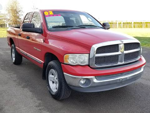 2002 Dodge Ram Pickup 1500 for sale at Low Price Auto and Truck Sales, LLC in Salem OR