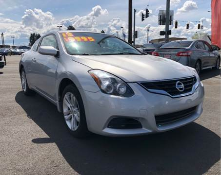 2013 Nissan Altima for sale at Low Price Auto and Truck Sales, LLC in Salem OR