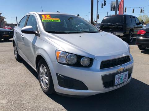 2012 Chevrolet Sonic for sale at Low Price Auto and Truck Sales, LLC in Brooks OR