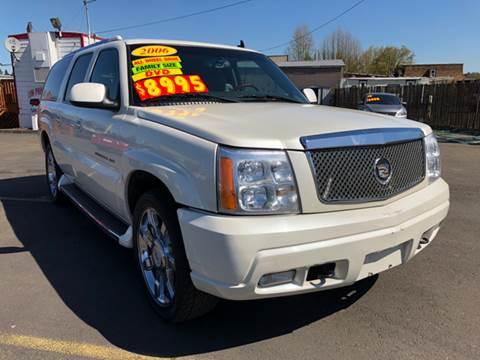 2006 Cadillac Escalade ESV for sale at Low Price Auto and Truck Sales, LLC in Brooks OR