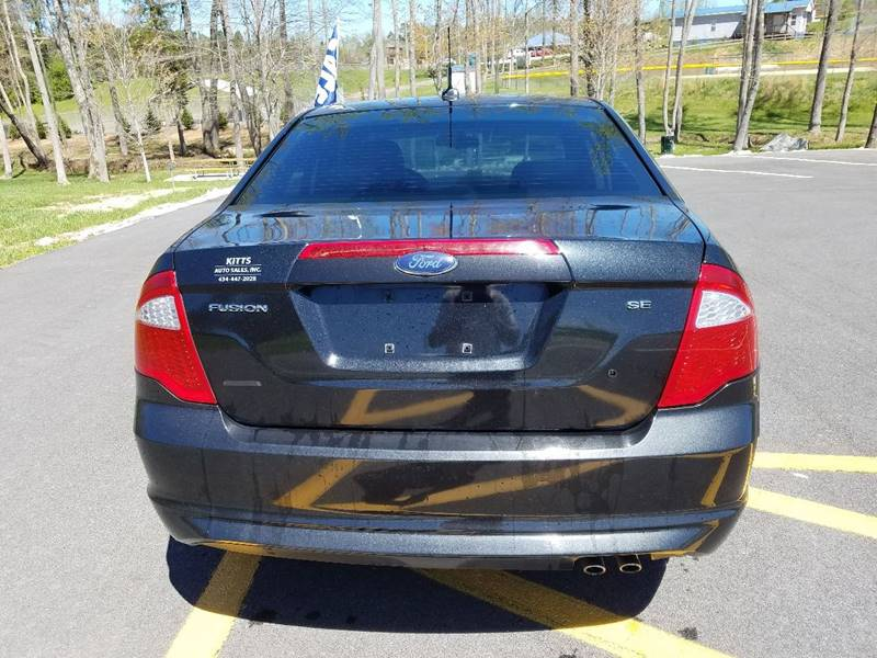 2010 Ford Fusion SE 4dr Sedan - South Hill VA