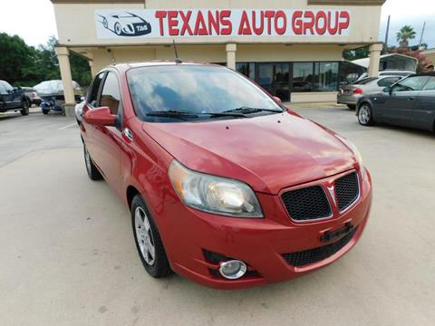 2009 Pontiac G3 for sale in Spring, TX