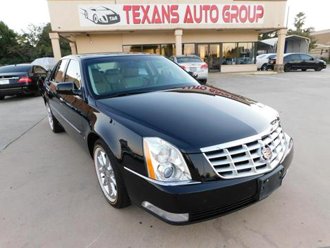 2009 Cadillac DTS for sale in Spring, TX
